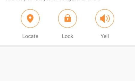enable find phone cm security