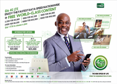 Glo 4g offers mifi router price