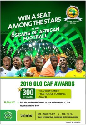 glo caf awards 2016