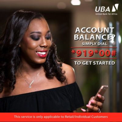 Recharge airtime from UBA account