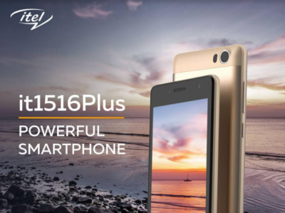 Itel it1516Plus android 5.1 phone