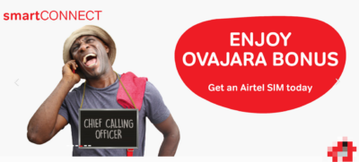 airtel overjara tariff plan bonus