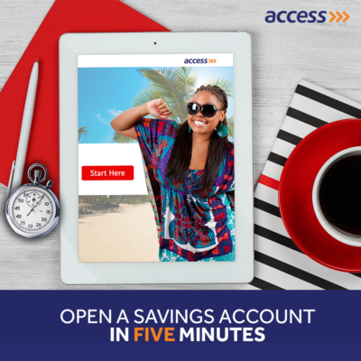open back account in nigeria with access bank plc