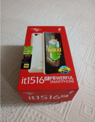 itel it1516 Plus android smartphone