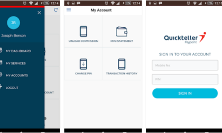 download quickteller android app for agents
