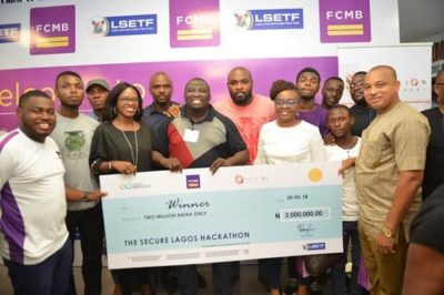 fcmb bank Lagos Hackathon competition winner