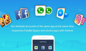 use 2 facebook accounts on 1 android phone parallel space app