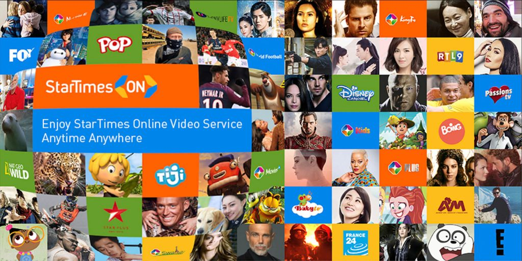 startimes on live streaming video